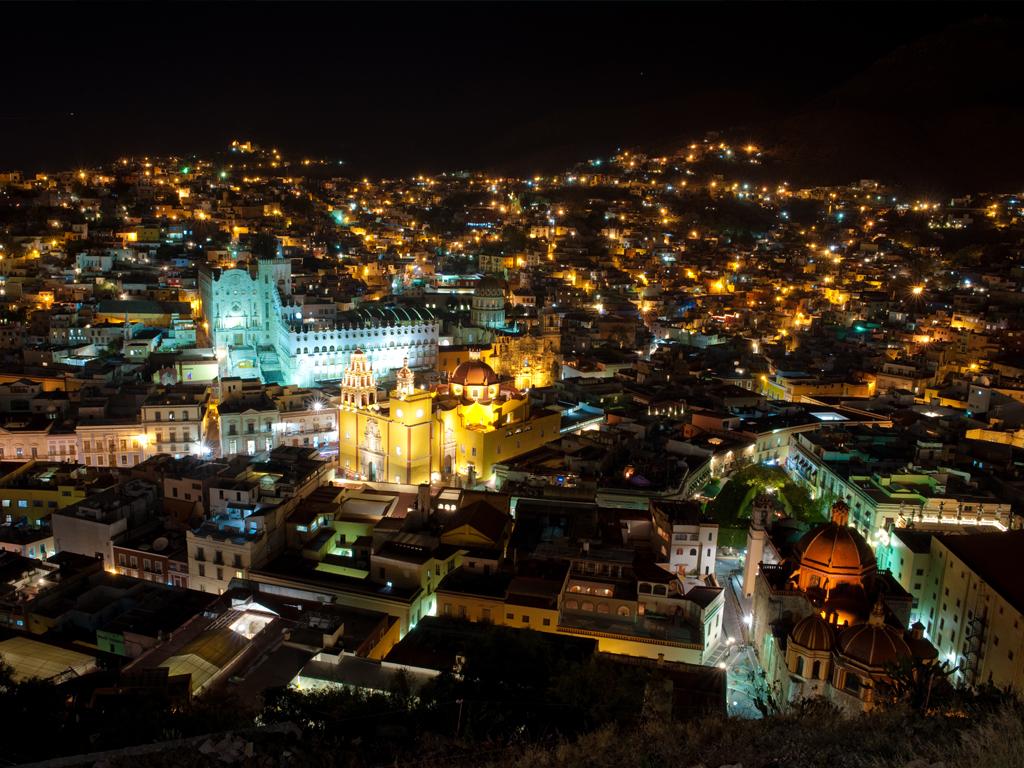 Mirador del Pípila, uno de los grandes atractivos turísticos de Guanajuato.