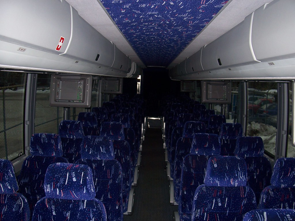 dartmouth coach 0801 | interior shot of dartmouth coach 0801