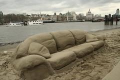 Sand Sofa | By Dirtybeach.tv ...