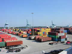Shipping Containers | by JAXPORT