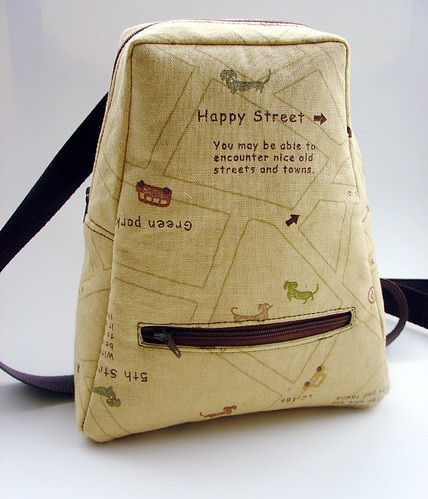 Happy Map Back Pack | by glassbeach