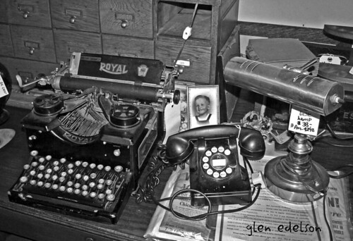 Type Writer old phone | by glen edelson