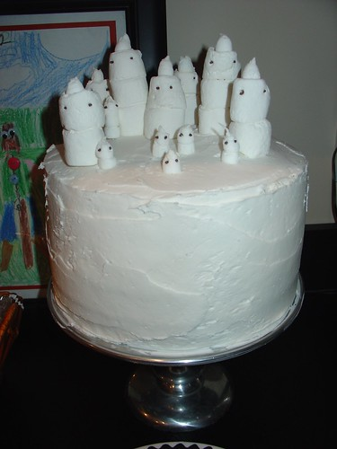 Ghost Cake | by death by cupcake