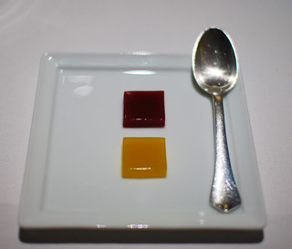2nd Course: Orange and Beetroot Jelly | by ulterior epicure