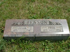 Julia and Fred Benson | by Barrington Area Library Local History