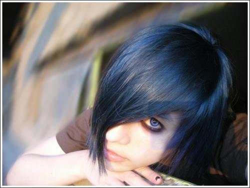 emo boy, emo hair, scene | My hair blue | Joe Casper ...