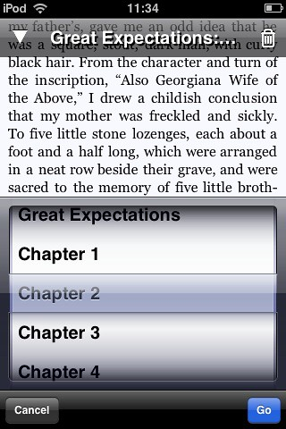 Stanza eBook reader for iPhone | by Sigalakos