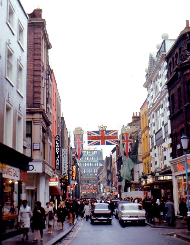 London - Carnaby Street (1968)