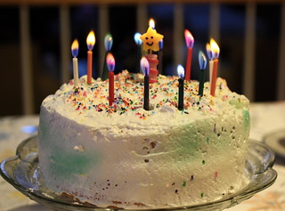Wagamama Birthday Cake