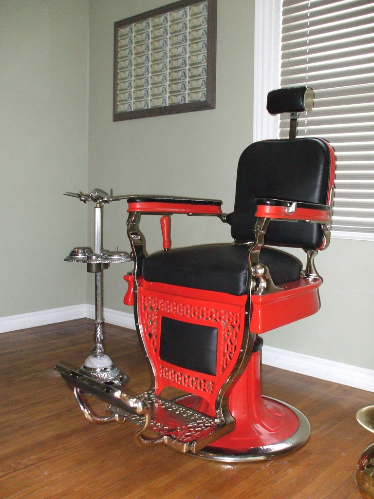 ... 1929 Theo A Koch Barber Chair | By Shawn_254