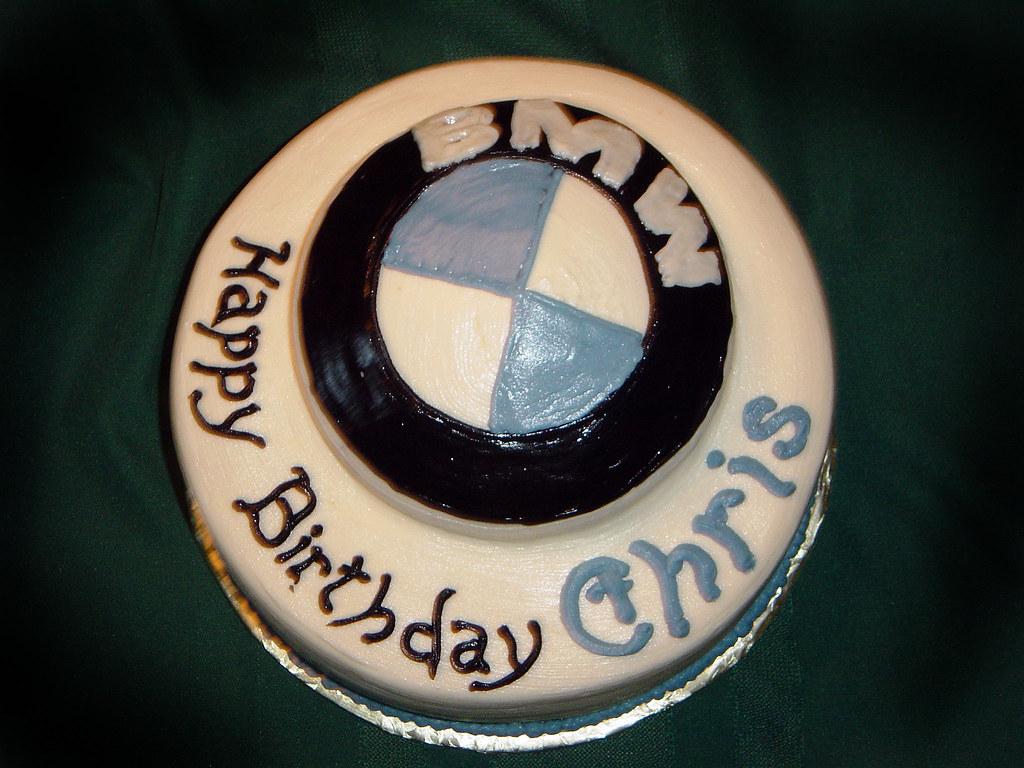 Bmw Birthday Cake Stan Mcmahan Flickr