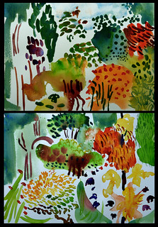 Garden paintings, May 2011 | by Sue Hodnett