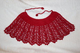 Crocheted infant cape using heavily modified Japanese pattern | by *mia*