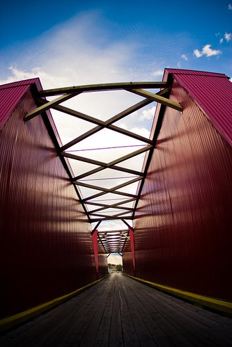 Over Red Bridge | by halfgeek