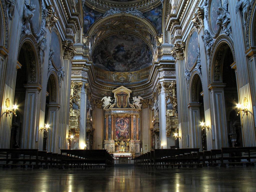 Roma Chiesa Nuova Gengish Skan Flickr