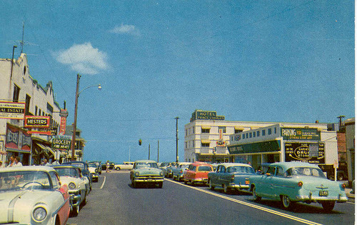 Myrtle Beach Resorts >> 17th Street and Atlantic Avenue | A eastward view of 17th St… | Flickr