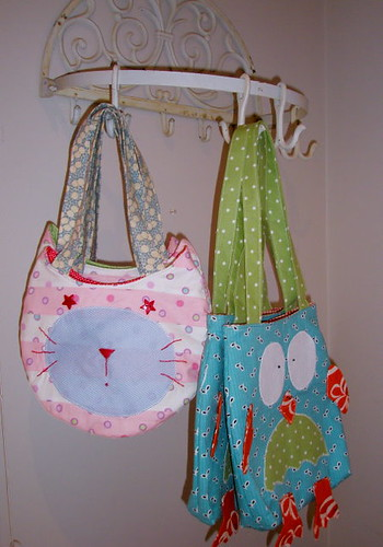 Cat & Owl Bags | by Swede-Heart
