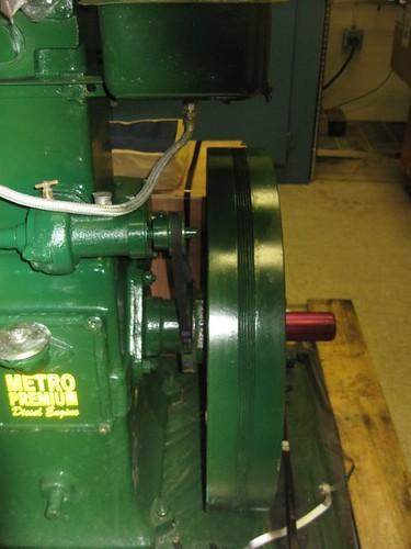 metro listeroid 6/1 diesel engine generator