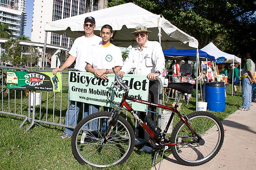 Green Mobility Network Bicycle Valet | by bikemiami08