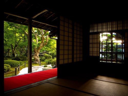 double vision (Enkouji temple, Kyoto) | by Marser