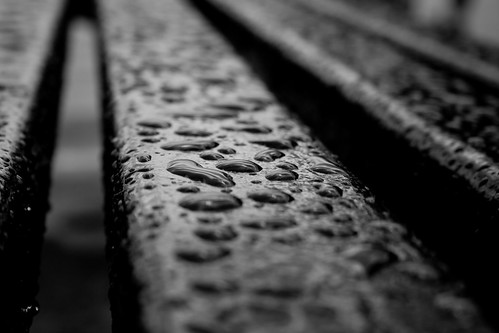 raindrops keep falling on my...bench | by joffathan