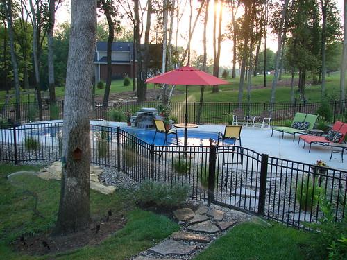 Carmel 32a viking pools custom design clearwater fib for Pool design louisville ky