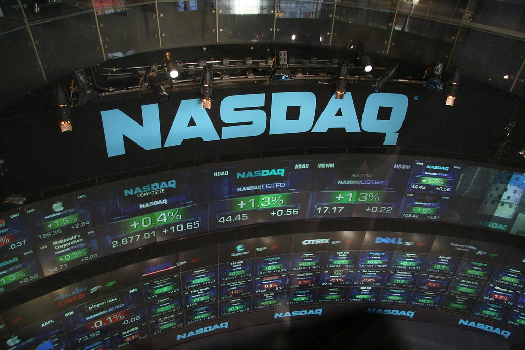 After Hours Stock Chart: Nasdaq Take 3 | I travelled to US again later 2007. This timu2026 | Flickr,Chart