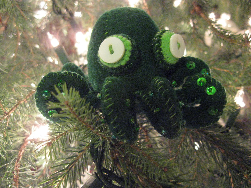 Pacific Northwest Tree Octopus stuffie | Made for my friend … | Flickr