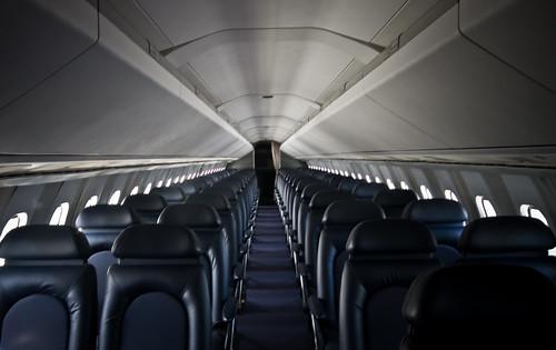 The Concorde Interior | The interior cabin of the Concorde ...