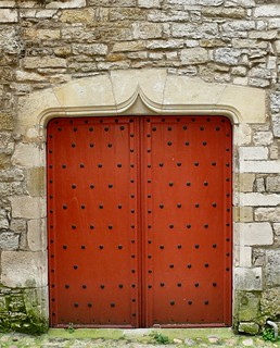 Old gothic door | by dynamosquito