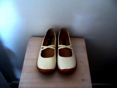 new shoes bone colour | by citypix