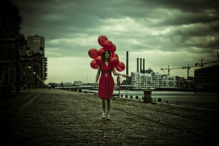 *Balloon*Girl* | by Annelogue