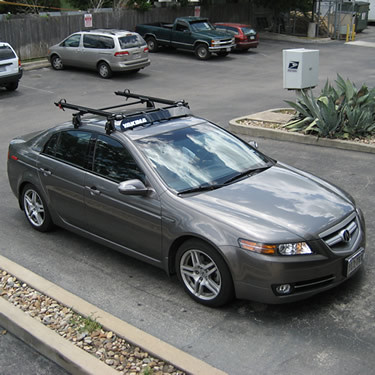 Installlg Heres An Acura TL With A Yakima Q Tower Roo Flickr - Acura tsx roof rack