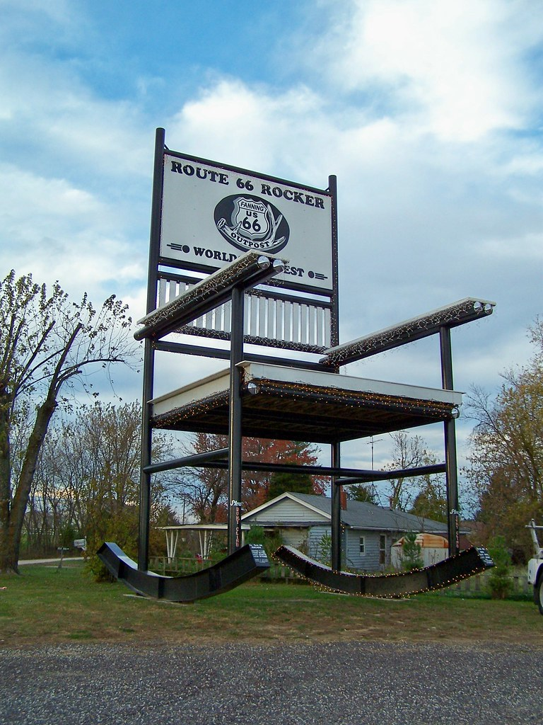 Peachy Worlds Biggest Rocking Chair Route 66 Route 66 Cuba Mis Alphanode Cool Chair Designs And Ideas Alphanodeonline