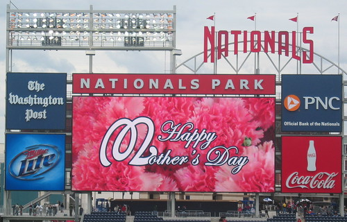 Mother's Day at the ballpark | by afagen
