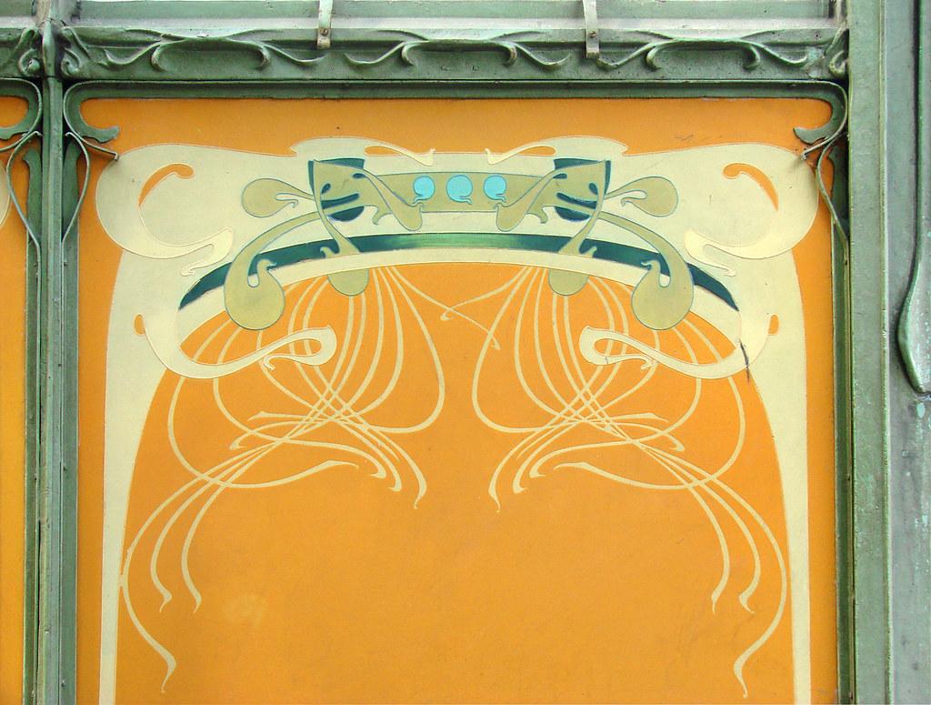 Decor De La Station Art Nouveau De La Porte Dauphine Hect Flickr