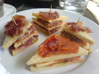Club sandwich au serrano | by clotilde