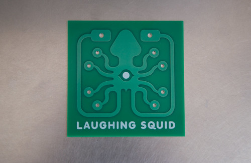Laughing Squid Printed Circuit Board | by Scott Beale