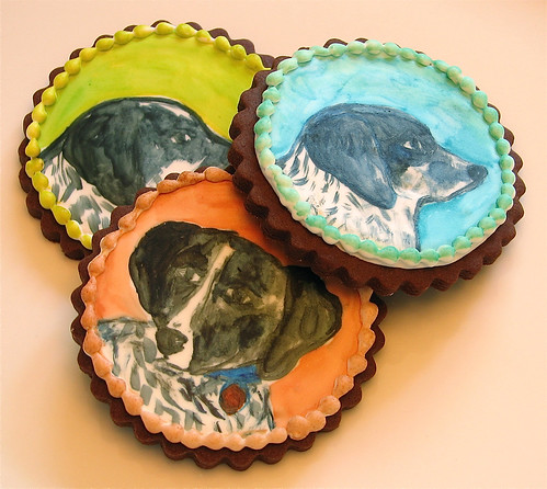 Dog Portrait Cookies | by Whipped Bakeshop