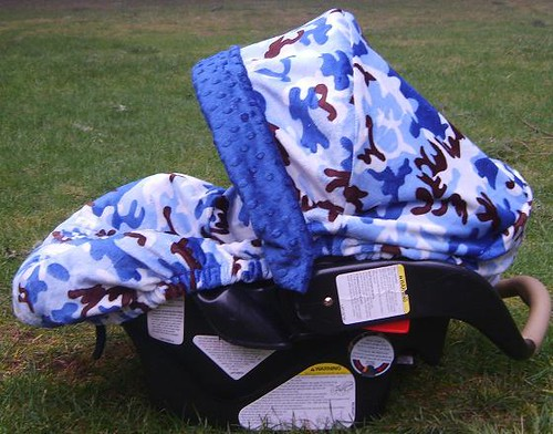 Camouflage Infant Car Seat