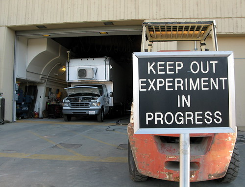 Keep Out Experiment In Progress — LIGO Gravitational Waves | by jurvetson