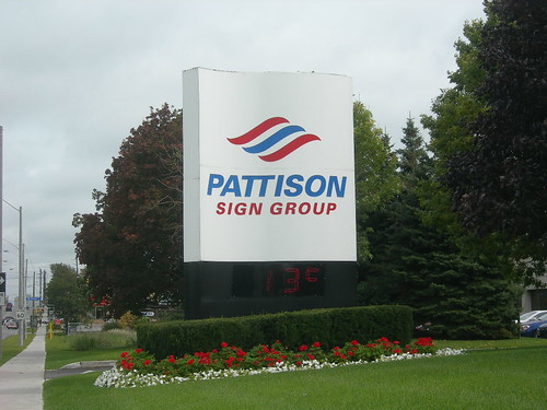 Pattison Sign Group, Sign, Warden Avenue, Scarborough, Toronto Ontario Canada, September 30 2008 | by HiMY SYeD / photopia
