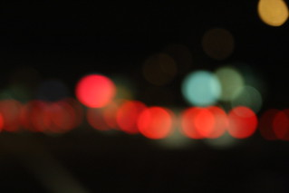 Happy bokeh traffic | by kevin dooley