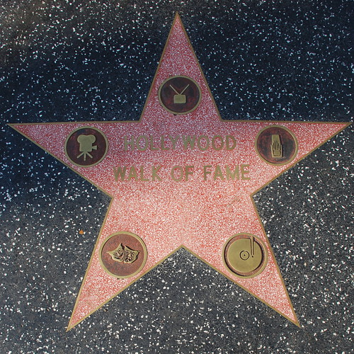 The Walk of Fame's Walk of Fame Star | by Floyd B. Bariscale