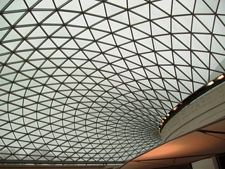 The dome of the British Museum in London | by anDarko.