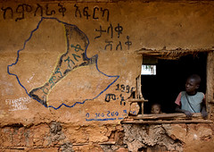 School in a Konso village Ethiopia | by Eric Lafforgue