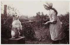 Girl Photographing a Dog | by National Science and Media Museum
