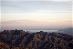 Salton Sea from Key View, Joshua Tree National Park | by laheringer