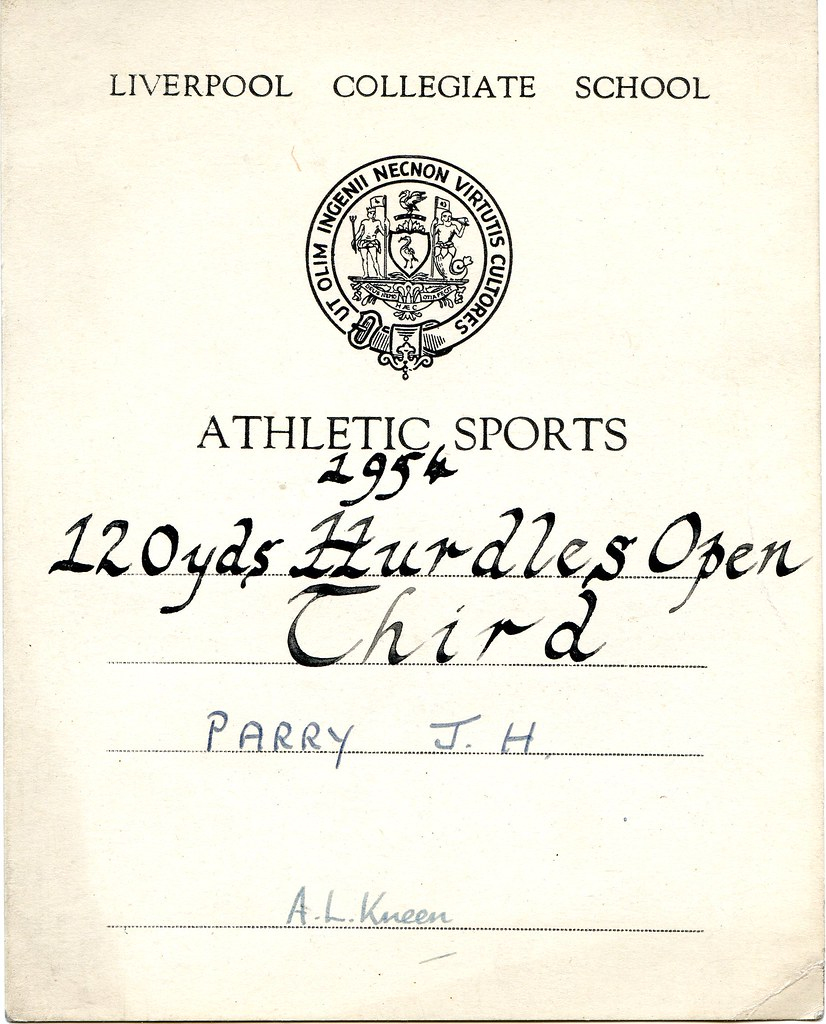athletics certificate 1954 but there were only three run flickr