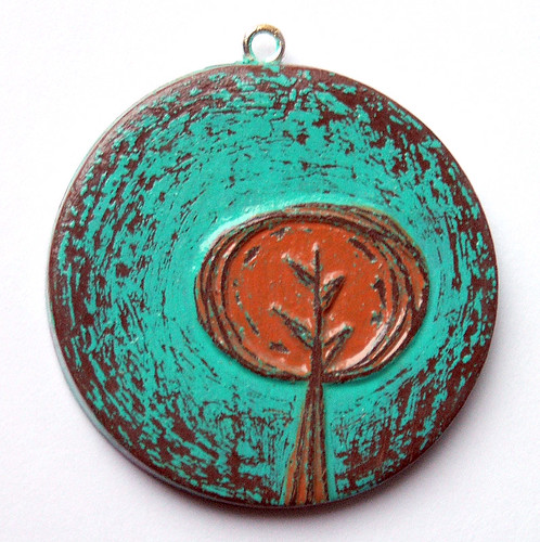 Tree Hugger Pendant | by blockpartypress